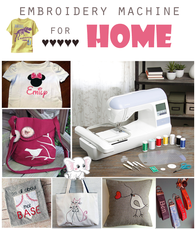 embroidery machine for home