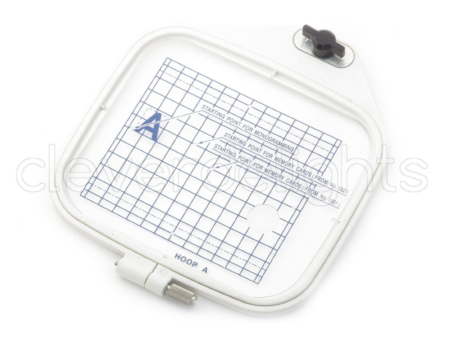 Review embroidery hoop a 4 3 x 5 for janome mc300e for Janome memory craft 9500