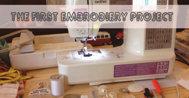 Some Difficulties When You Join The First Embroidery Project Best Best First Sewing Machine Project
