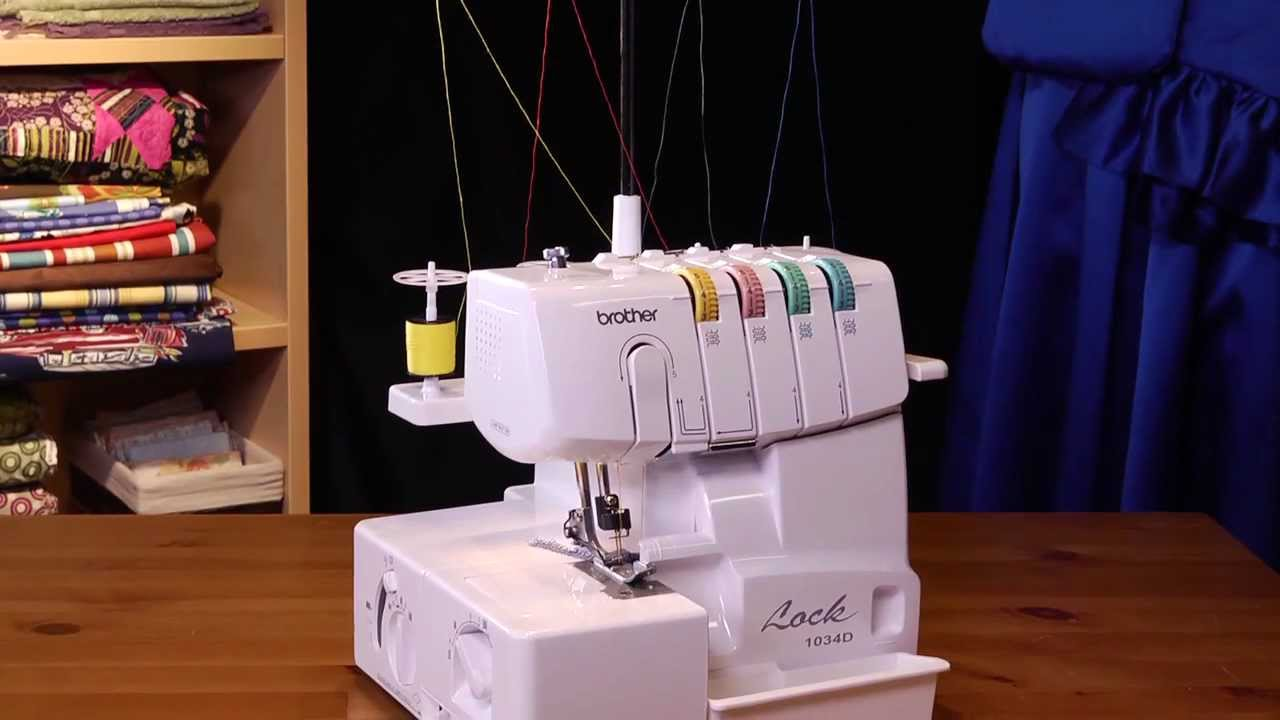 1034d 3 4 lay in thread serger sewing machine