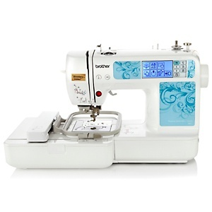 <em><strong>Brother HE-1 computerized embroidery machine</strong></em>