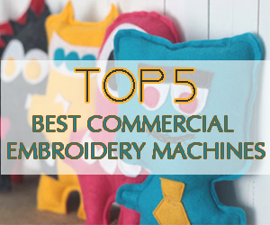 Best Commercial Embroidery Machine In Midle 2016
