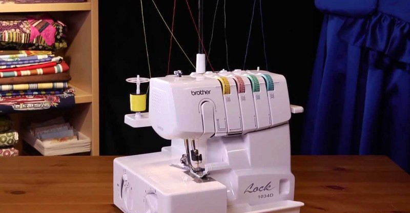 brother 1034d 3 4 lay-in thread serger reviews